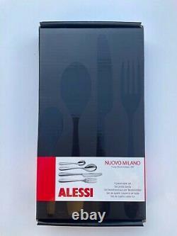 Alessi, Nouvo Milano, 32 Piece Set (8 x 4-piece table set) BRAND NEW