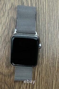 Apple Watch 42mm Stanless Steel Milanes Edtion (iWatch Series 1)