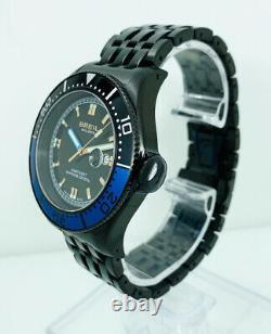 Breil Milano BW0404 Manta Men's Round Black Analog Date Stainless Steel Watch