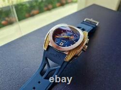 Breil Milano BW0480 Shosholoza Blue Dial Swiss Made Analog Men's Watch