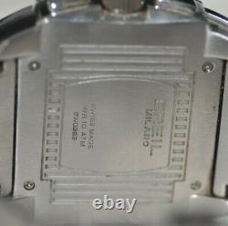 Breil Milano Mediterraneo Swiss Chrono Black Dial Stainless Steel Watch BW0382