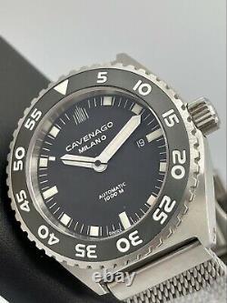 Cavenago Milano 1000m Diver Swiss Automatic 46mm Italian Limited Edition 79/100