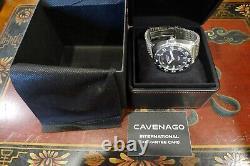 Cavenago Milano Steel1000m Italian Diver Mesh Bracelet 45mm Militare