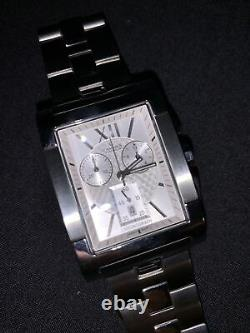 Charmex Swiss Mens Quartz Milano Watch, Chrono 37x48mm Case 5 ATM WithR. Box