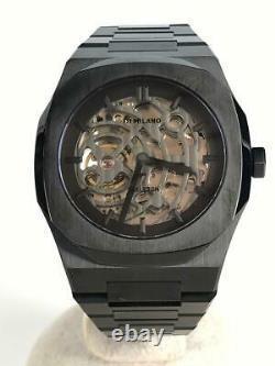 D1 MILANO SKBJ04 XRay Skeleton 41.5mm mens analog Automatic watch