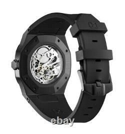 D1 Milano A-MC03 rare mechanical watch Black stainless steel, sapphire glass