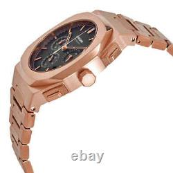 D1 Milano Chronograph Quartz Black Dial Men's Watch CHBJ04
