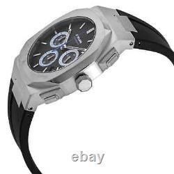 D1 Milano Chronograph Quartz Black Dial Men's Watch CHRJ01