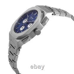 D1 Milano Chronograph Quartz Blue Soleil Dial Men's Watch CHBJ02