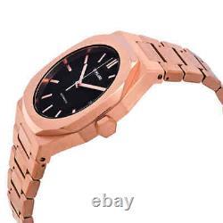 D1 Milano P701 Automatic Black Dial Men's Watch ATBJ03