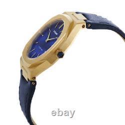 D1 Milano Ultra Thin Quartz Blue Soleil Dial Ladies Watch UTLL15
