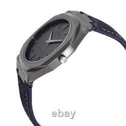D1 Milano Ultra Thin Quartz Grey Dial Men's Watch UTDJ02