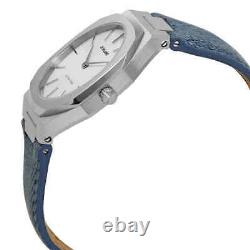 D1 Milano Ultra Thin Quartz Silver Dial Ladies Watch UTDL01