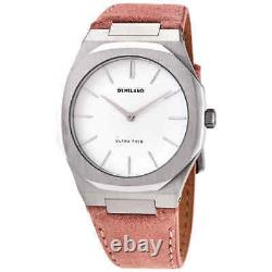 D1 Milano Ultra Thin Quartz White Dial Ladies Watch UTLL07