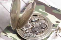 DOXA mechanical Pocket Watch, Swiss Watch medallie dor Milan 1906 Vintage watch