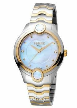 Ferre Milano Women's FM1L083M0071 MOP Dial Two-Tone Stainless Steel Watch