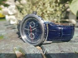Filippo Loreti Milano Deep Blue Automatic Limited Edition 26 Jewel Watch withPaper