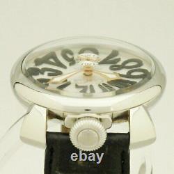 GAGA MILANO MANUALE 48MM Ref. 5010.07S Manual winding men's watch waterproof