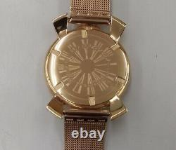 GAGA MILANO Quartz analog 5081.3 #8896 wristwatch