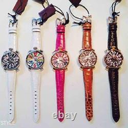 GaGa MILANO 5021.3 watch men's rubber belt used