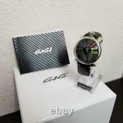 GaGa MILANO 5025.3 MANUALE 250 Limited Watch Quartz Women's NEW Battery Working