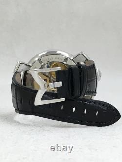 GaGa MILANO Gagamirano 5010.04S Manuare 48MM manual winding Analog Leather BLK
