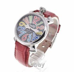 GaGa MILANO Manual 40 5020.2 Gray shell Dial Quartz Ladies Watch T#100181