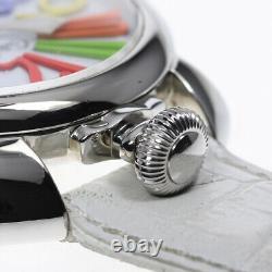 GaGa MILANO Manuale 1.9 5010.01S white Dial Hand Winding Men's Watch 629247