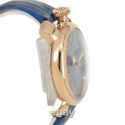 GaGa MILANO Manuale 40 5021 Blue shell Dial Quartz Unisex Watch O#96162