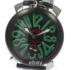 GaGa MILANO Manuale 48MM 5013.02S Small seconds Hand Winding Men's 485871