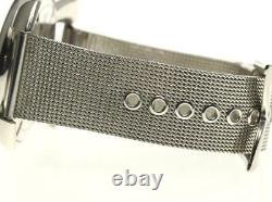 GaGa MILANO Manuale Slim 46 5080.2 Small seconds black Dial Quartz Men's 558299