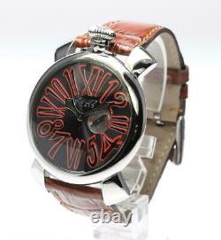 GaGa MILANO Manuale Slim 46 5084.2 Gray Dial Quartz Men's Watch 552027