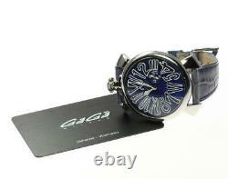 GaGa MILANO Manuale Slim 46 5084.3 Small seconds Quartz Men's Watch 577809