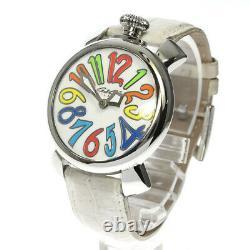 GaGa MILANO Manuale40 5020.1 White shell Dial Quartz Ladies Watch 637161