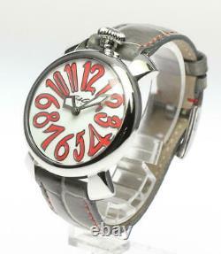 GaGa MILANO Manuale40 5020.10 White shell Dial Quartz Ladies Watch 609103