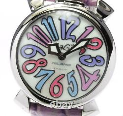 GaGa MILANO Manuale40 5020.7 White shell Dial Quartz Ladies Watch 552424