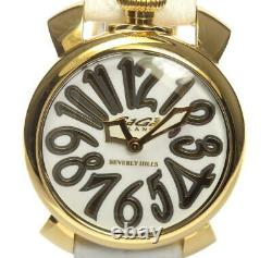 GaGa MILANO Manuale40 5021. WH. BH white Dial Quartz Ladies Watch 558359