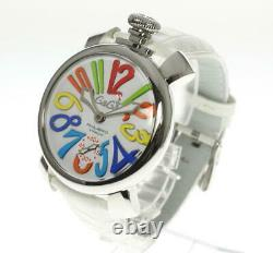 GaGa MILANO Manuale48 5010.01 Small seconds Hand Winding Men's Watch 538372