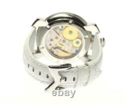 GaGa MILANO Manuale48 5010.04 black Dial Hand Winding Men's Watch 569066