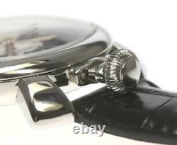 GaGa MILANO Manuale48 5010.07S Small seconds Silver Dial Winding Men's 563268