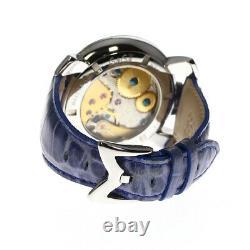 GaGa MILANO Manuale48 5010.08S blue Dial Hand Winding Men's Watch 623324