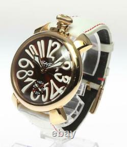 GaGa MILANO Manuale48 5011.01 Small seconds Hand Winding Men's Watch 607786
