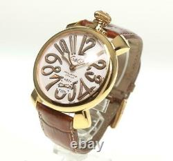 GaGa MILANO Manuale48 5011.08S Small seconds Hand Winding Men's Watch 544663