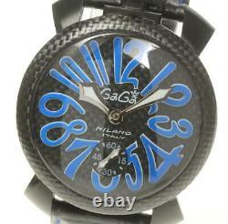 GaGa MILANO Manuale48 5016. EDA07 Hand Winding Men's Watch 560186