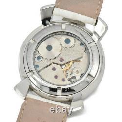 GaGa MILANO Manuale48 small seconds 5010.01 Hand Winding Men's Watch O#96193