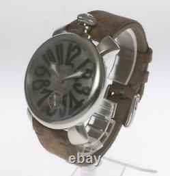 GaGa MILANO Manuale48 vintage 5010. VINTAGE. S Men's Watch 454889