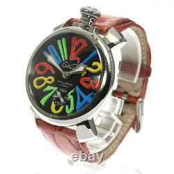 GaGa MILANO Manuale48MM 5010.02S Small seconds Hand Winding Men's Watch 615685
