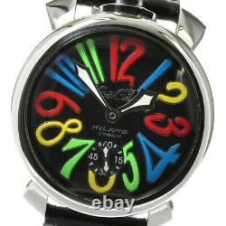 GaGa MILANO Manuale48MM 5010.02S Small seconds Hand Winding Men's Watch 634169