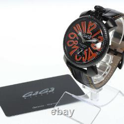 GaGa MILANO Manuale48MM 5016. EDA01 Small seconds Hand Winding Men's Watch 639864