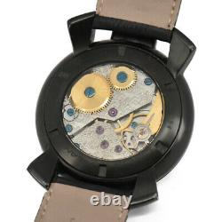 GaGa MILANO Manuale48MM Small Second 5012.03S Hand Winding Men's Watch J#98180